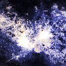 When Galaxies Collide (Sodalite) by Stephanie Bateman-Graham