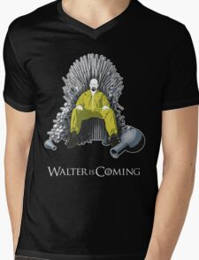 Walter is Coming (Breaking Bad x Game of Thrones) Mens V-Neck T-Shirt