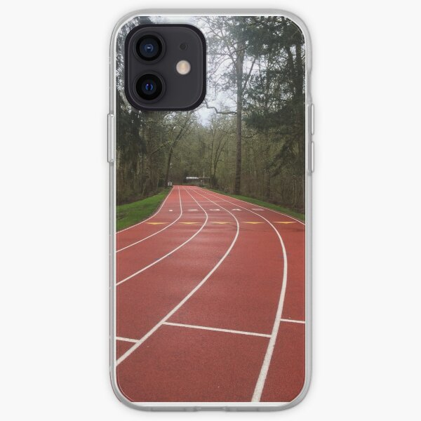 Track in forest  iPhone Soft Case