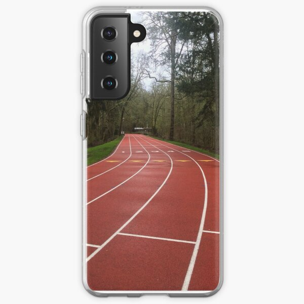 Piste en forêt Coque souple Samsung Galaxy