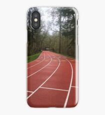 Track in forest  iPhone Case/Skin