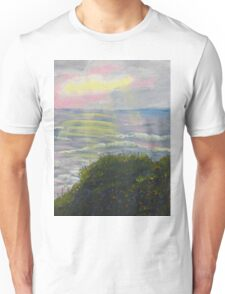 Rays of Light at Burliegh Heads Unisex T-Shirt