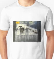 Rainy City Street T-Shirt