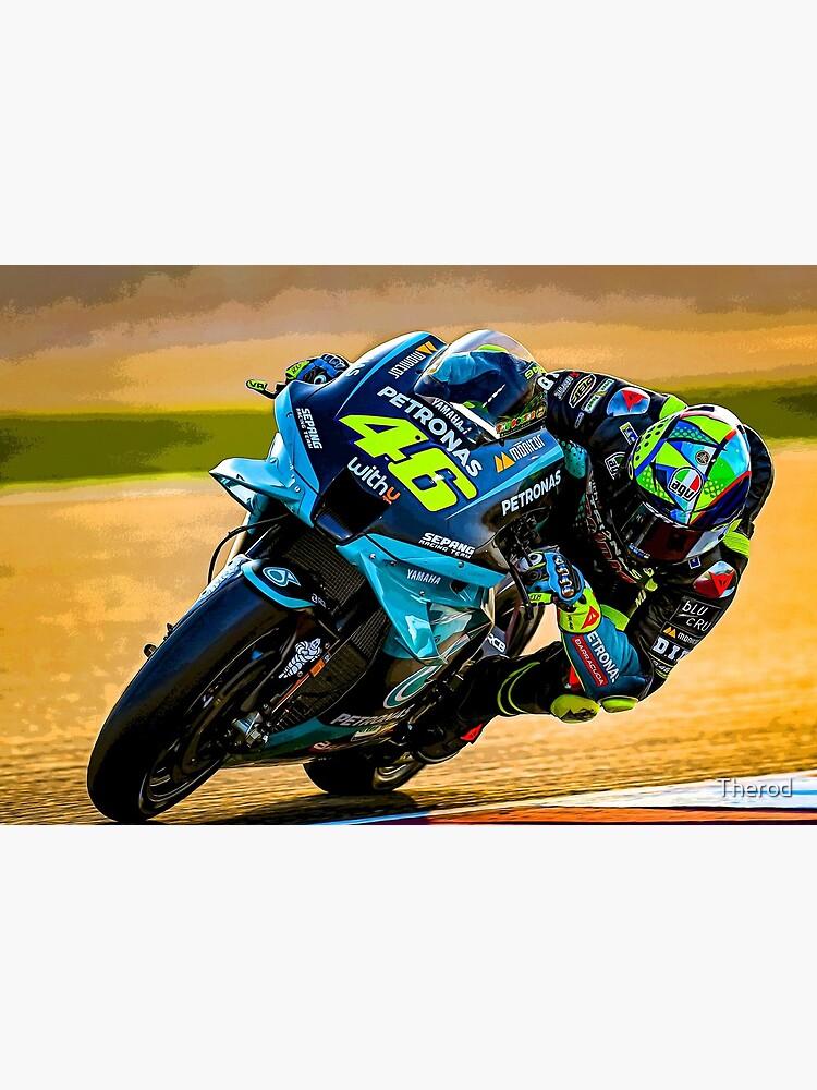 «Valentino Rossi pilote son résumé de moto MotoGP 2021» par Therod