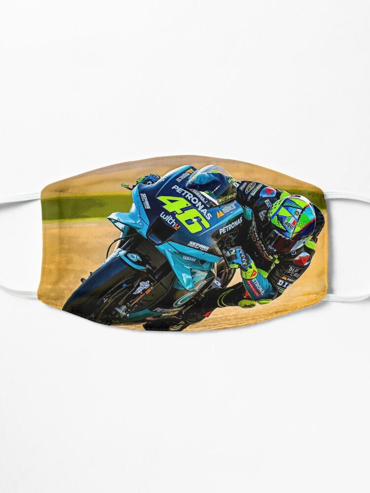 Masque ''Valentino Rossi pilote son résumé de moto MotoGP 2021': autre vue