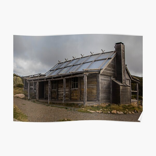 Craig's Hut - High Country Victoria Poster