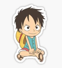 EDR 787 Kid Luffy Sticker