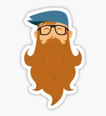 A beards tale Sticker
