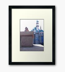 Sleeping beauty's castle  Framed Print