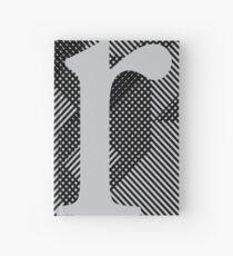 r / grey Hardcover Journal