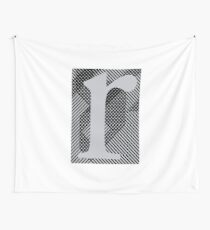 r / grey Wall Tapestry