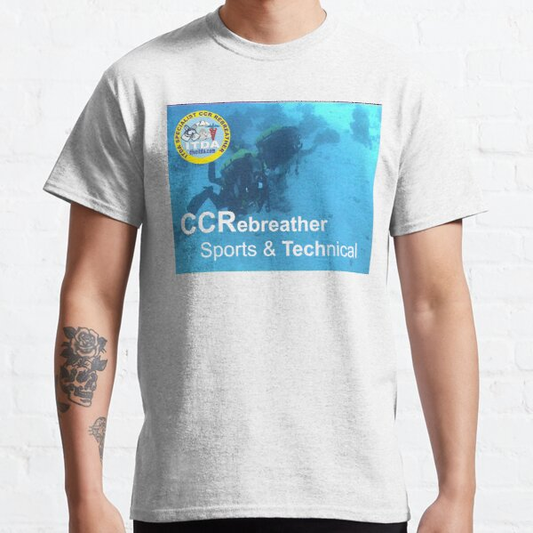 CCR Rebreather Diving (Technical) Classic T-Shirt
