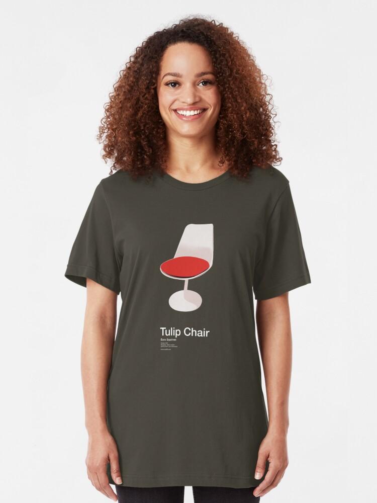 Alternate view of Tulip Chair /// Slim Fit T-Shirt
