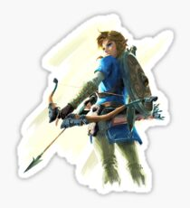 Link zelda breath of the wild Sticker