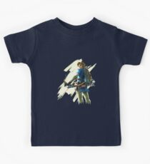 Link zelda breath of the wild Kids Tee