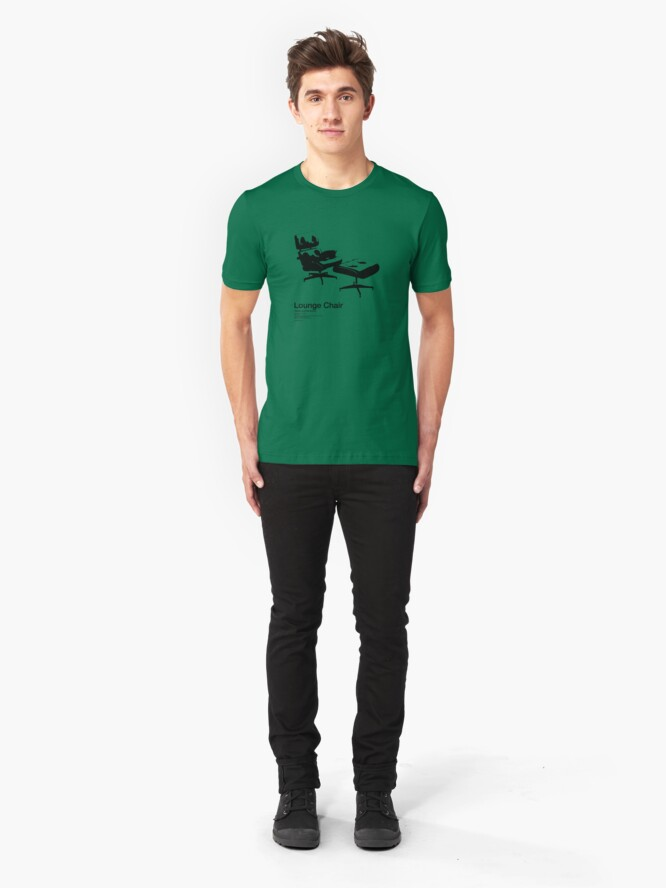 Alternate view of Lounge Chair /// Slim Fit T-Shirt
