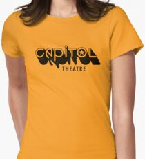 Capitol Theatre (black) Women's Fitted T-Shirt