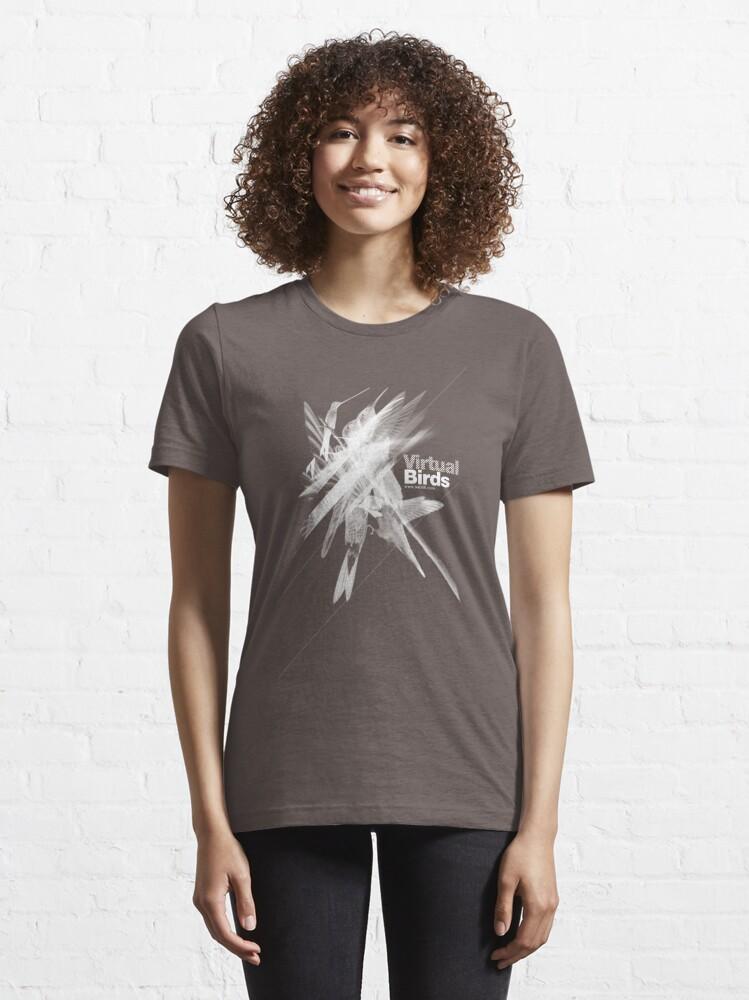 Alternate view of Virtual birds /// Essential T-Shirt