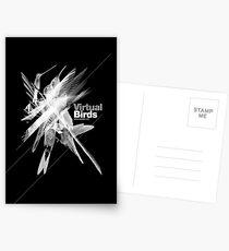 Virtual birds /// Postcards