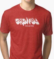 Capitol Theatre (white) Tri-blend T-Shirt