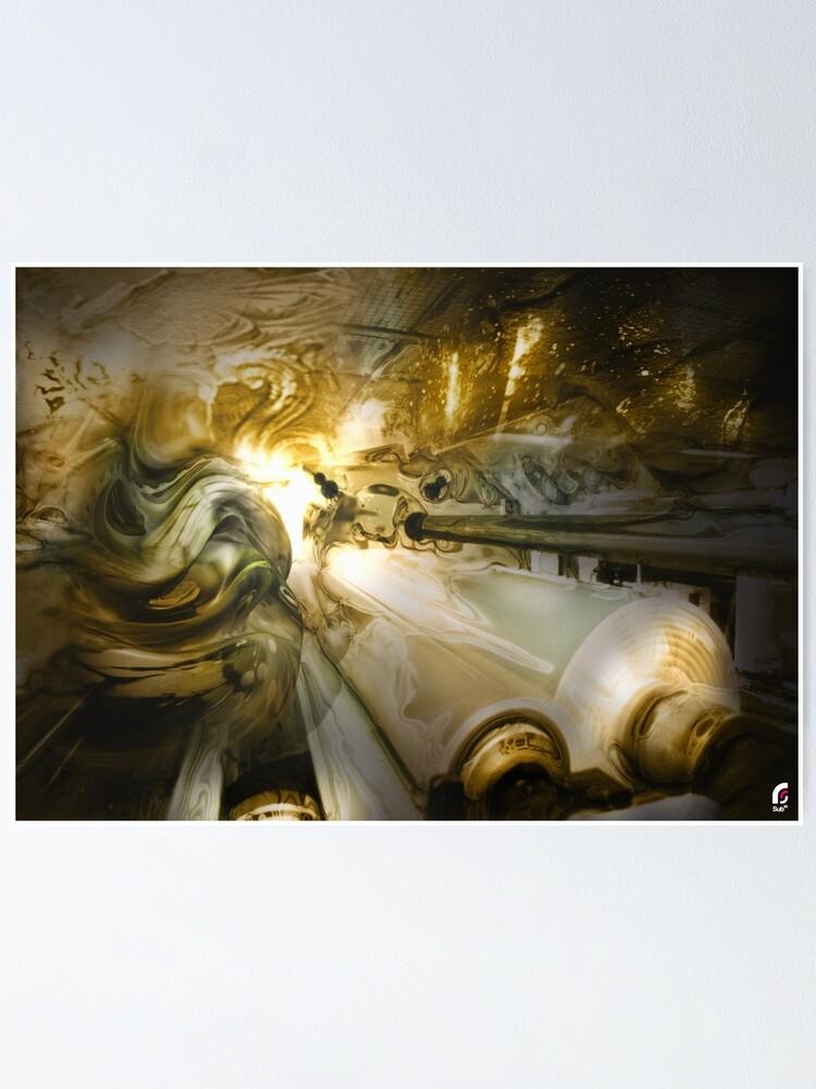 Alternate view of AfraktPlace /// Poster