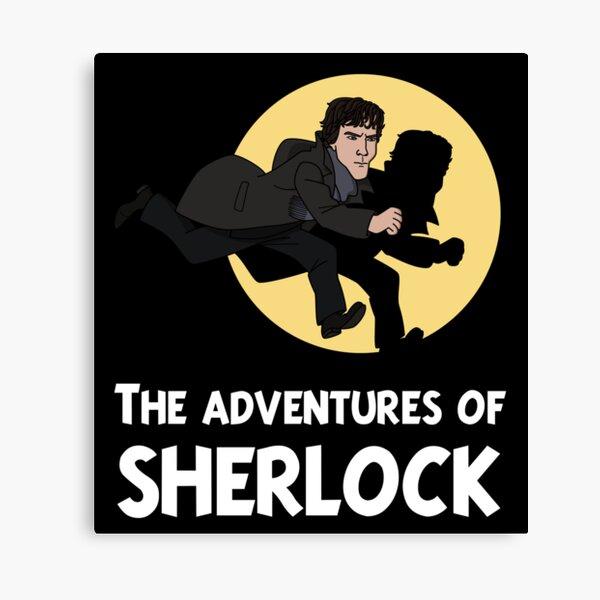Les aventures de Sherlock Impression sur toile