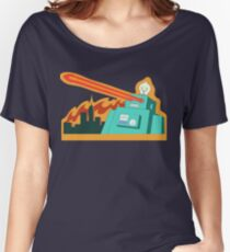 Giant robot... just another monday Women's Relaxed Fit T-Shirt