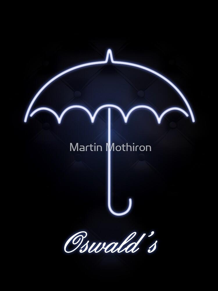 Gotham Oswald's night club by Martin Mothiron