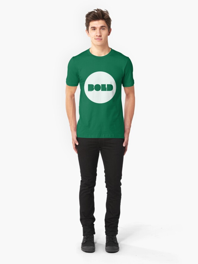 Alternate view of Bold /// Slim Fit T-Shirt