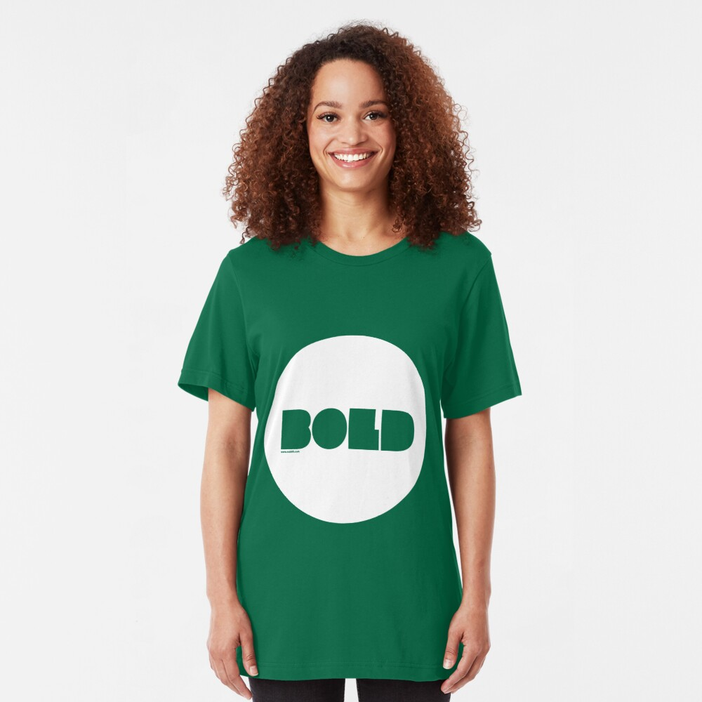 Bold /// Slim Fit T-Shirt