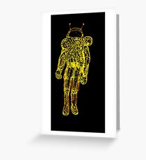 Spaced Out...Man... Greeting Card