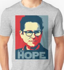 JJ Abrams Hope - In JJ We Trust T-Shirt