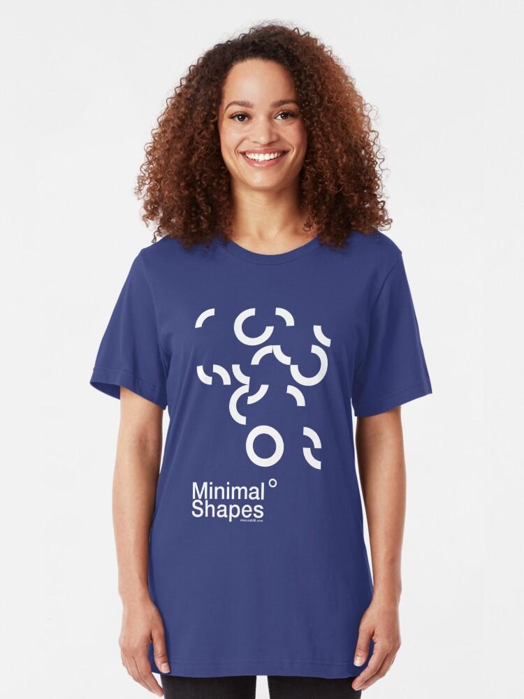 Alternate view of Minimal Shapes /// Slim Fit T-Shirt