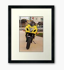 Suzuki GSXR600 Framed Print