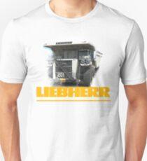 Liebherr Dozer Haul Truck Excavator T-Shirt