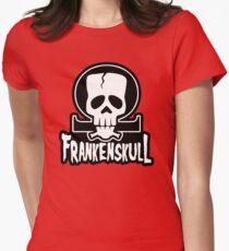 FrankenSkull New Ohm Logo Big Women's Fitted T-Shirt