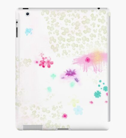 Catch a flower  iPad Case/Skin