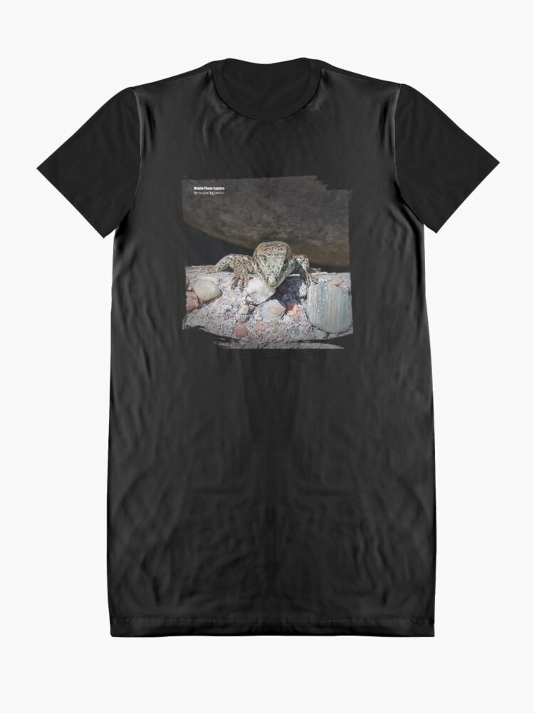 Alternate view of Return of the Lizard King Graphic T-Shirt Dress