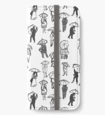 Shelter From The Rain Pattern iPhone Wallet/Case/Skin