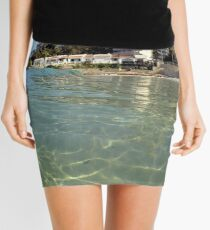 Calpe from the water Mini Skirt