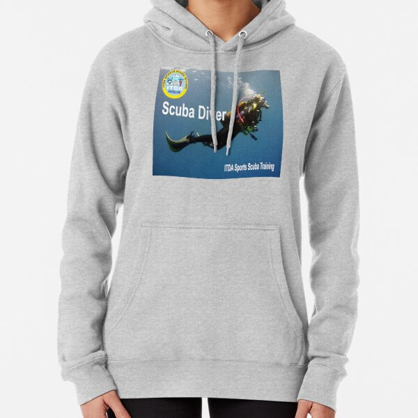 Scuba Diver Pullover Hoodie