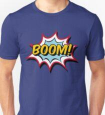 Boom Typography Comic T-Shirt
