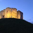 Clifford's Tower, York by Robert Steadman
