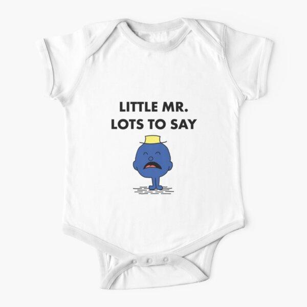 Herr viel zu sagen Baby Body Kurzarm