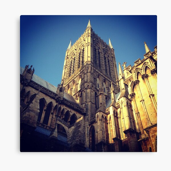 Tower, Lincoln Cathedral Canvas Print