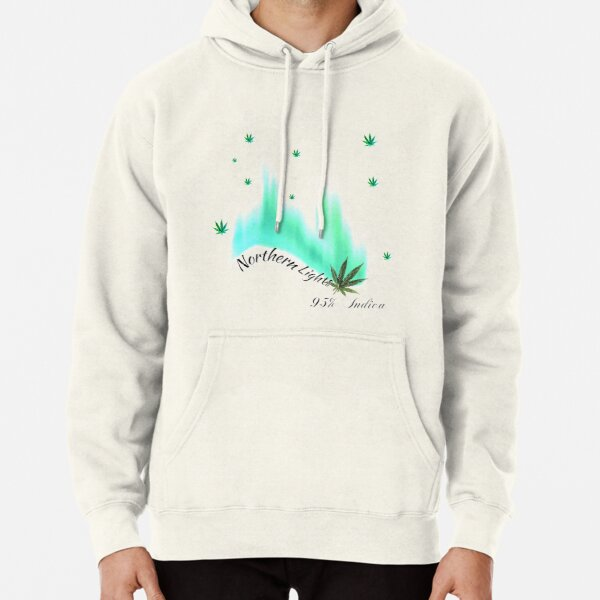 Northern Lights 95% Indica Pullover Hoodie