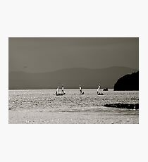 Simply Sailboats Photographic Print
