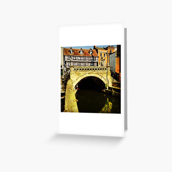 High Bridge, Lincoln Greeting Card