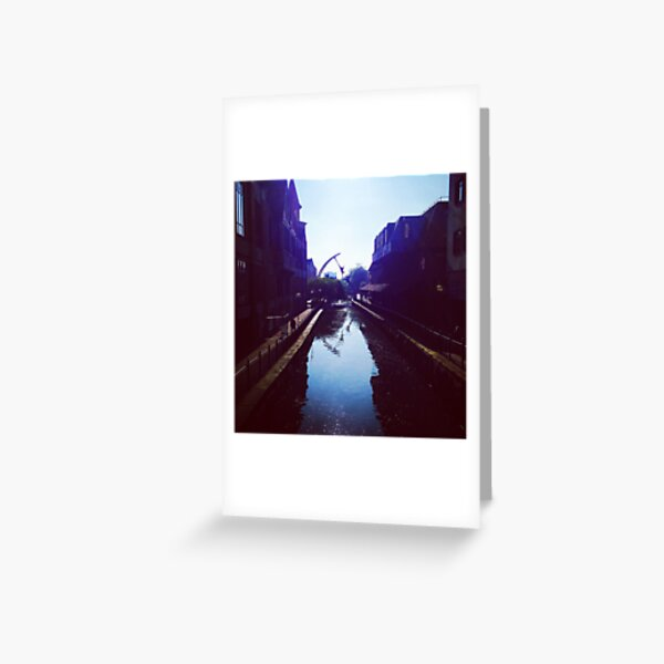 River Witham, Lincoln Greeting Card