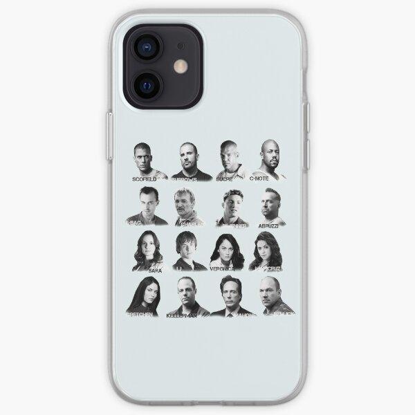 Prison Break - Cast Coque souple iPhone